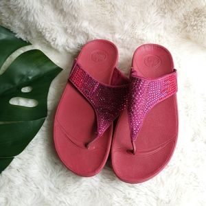 Fitflop pink jewel sandals